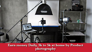 Best earning tips with products photography