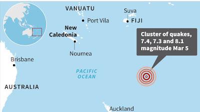 Gempa 8,1 SR Goyang Selandia Baru, Sirene Peringatan Tsunami Meraung-raung
