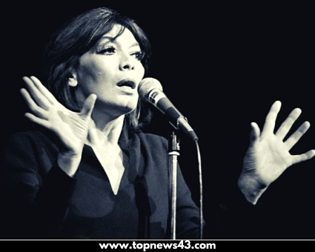 French Singer Juliette Gréco Parisienne For Half The World