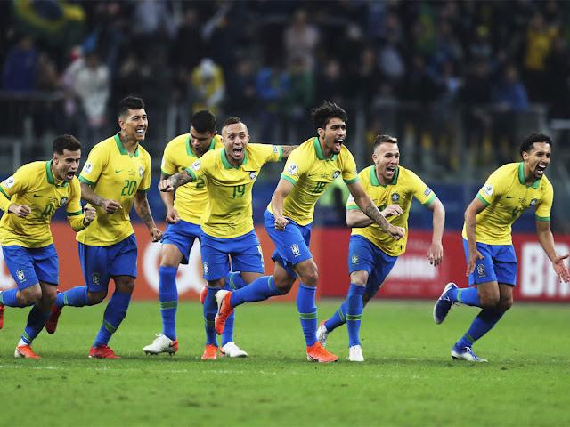 Brazil versus Paraguay score: Gabriel Jesus scores winning punishment