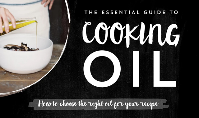 How to choose your recipe for the correct oil #infographic
