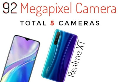 After the success of Realme 5 Pro, Realme has launched its new phone Realme XT in the Indian market. It is a 92MP Camera Phone, priced at Rs 15,999 which is first of its kind. It has a 64MP main camera on rear.