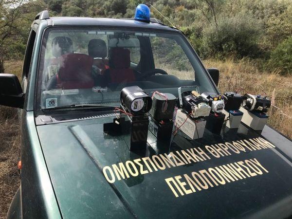 Ηχομιμητικές συσκευές (κράχτες) κατασχέθηκαν και στην Αργολίδα από την Κυνηγετική Ομοσπονδία Πελοποννήσου