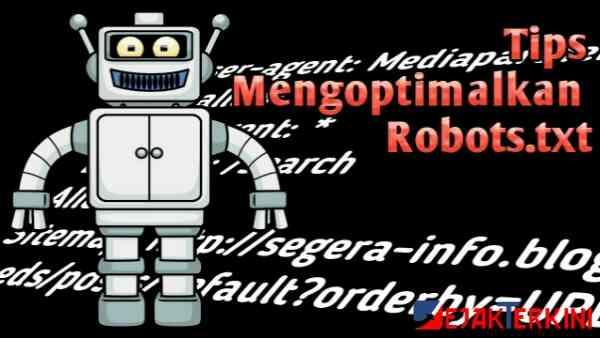 tips mengoptimalkan robots.txt