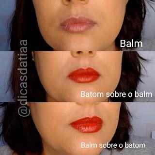 Batom Líquido Glam Duo Clinical Micropigmentação Canela Sublime Eudora dicas da tia efeitos