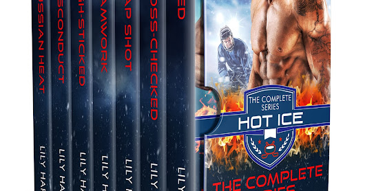 Meet The Vipers and fall in love and lust! HOT ICE BOXED SET #hot #hockey #romance #kindleunlimited