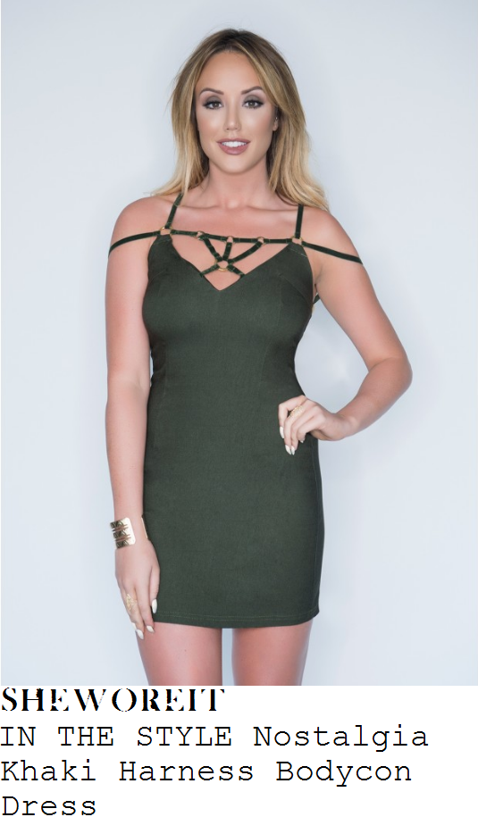 charlotte-crosby-in-the-style-nostalgia-khaki-harness-detail-bodycon-mini-dress