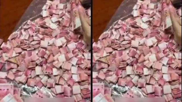 VIRAL 'Rahasia' 3 Tahun Suami Terkuak, Istri Syok Tahu Tumpukan Uang di Pipa, Selama ini Ngaku Bokek