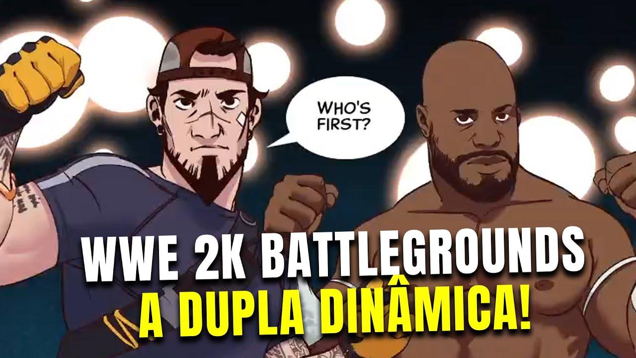WWE 2K Battlegrounds – Modo história #2: A dupla dinâmica!