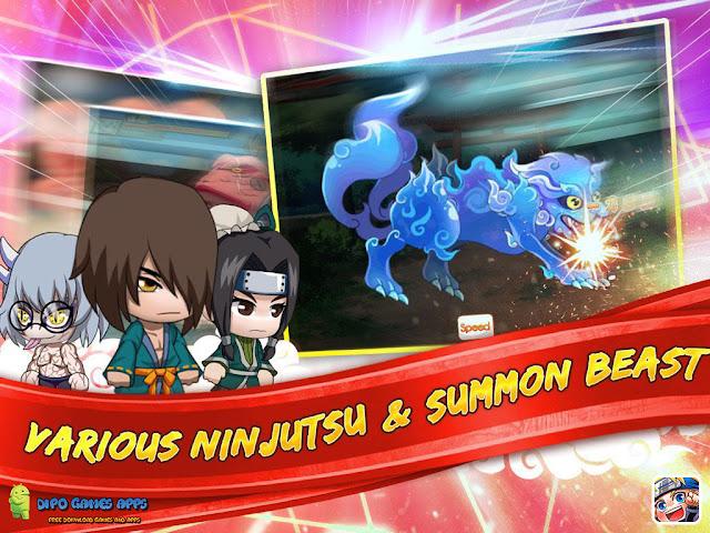Free Download Ninja Heroes v1.1.0 Mod APK Images