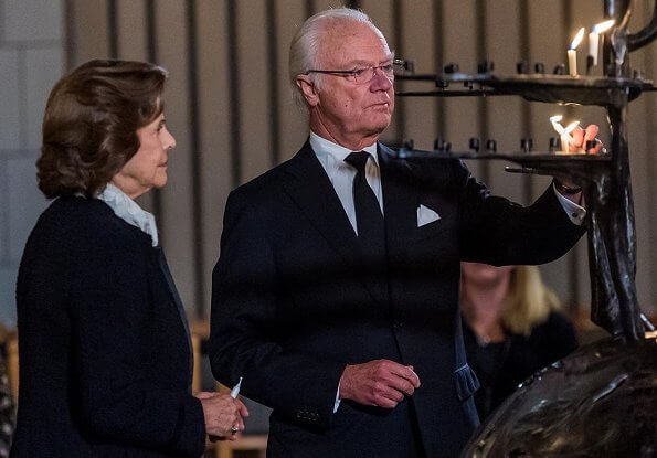 Queen Silvia has announced that her brother, Walther Sommerlath, has passed away. National memorial service (Faures requiem) at Uppsala Cathedral
