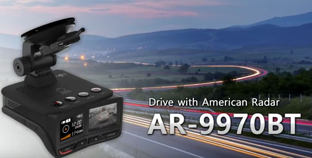 American Radar Dash Cam