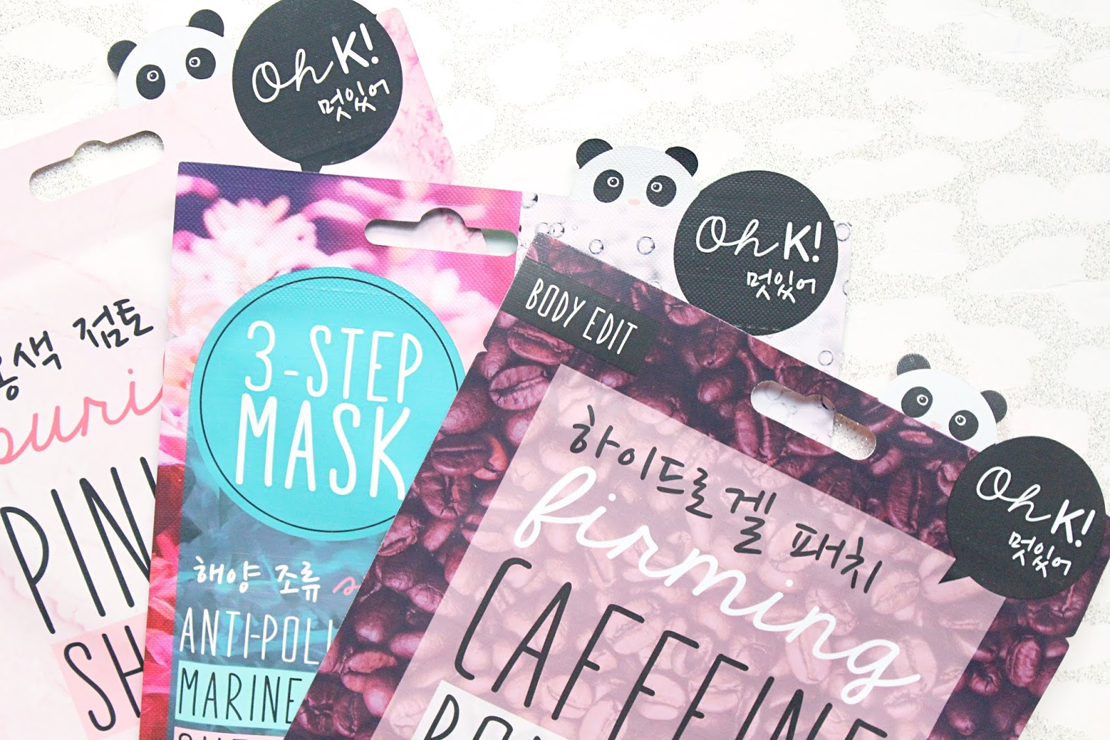 Oh K! Sheet Masks & Skincare