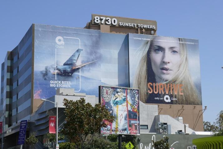 Giant Survive series launch billboard