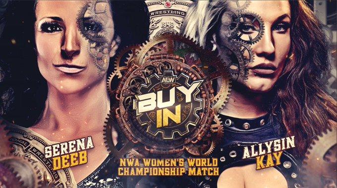 NWA Women's Championship estará em jogo no AEW Full Gear