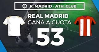 Paston Megacuota Real Madrid vs Athletic 22 diciembre 2019