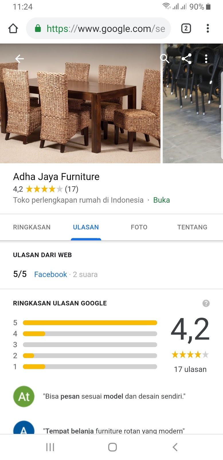 Hati Hati Dengan Adha Jaya Furniture Cirebon
