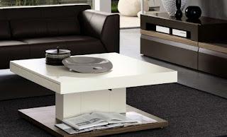 Contoh Desain Meja Tamu Rumah Minimalis Elegan Lengkap