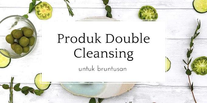 Produk Double Cleansing Untuk Bruntusan