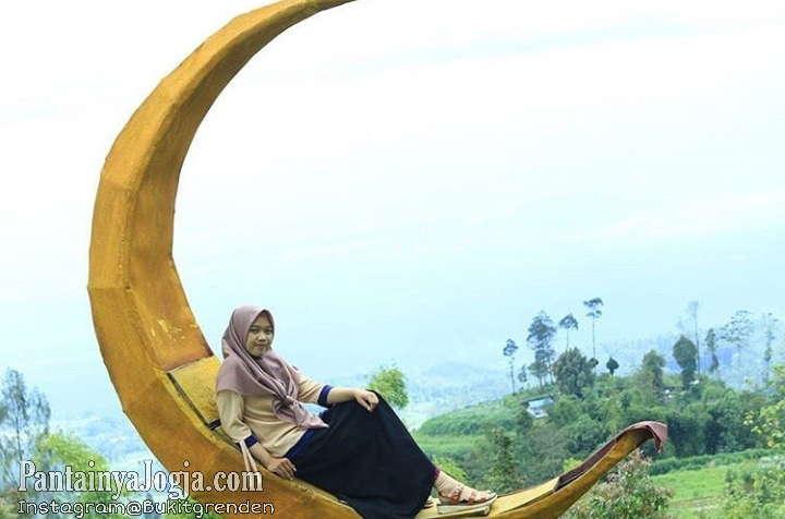 Lokasi Wisata Bukit Grenden Magelang