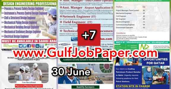 Gulf Overseas Jobs 30 June Gulfjobpaper Com Assignments Abroad Times India S No 1 Job Site