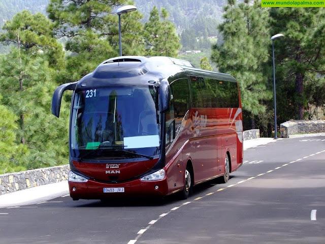 El Gobierno de Canarias distribuirá 32 millones de euros en el transporte regular de viajeros por carretera para compensar las pérdidas ocasionadas por la crisis sanitaria