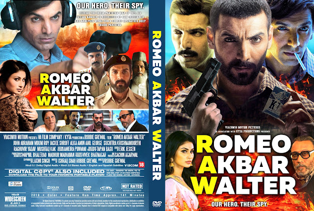 Romeo Akbar Walter DVD Cover