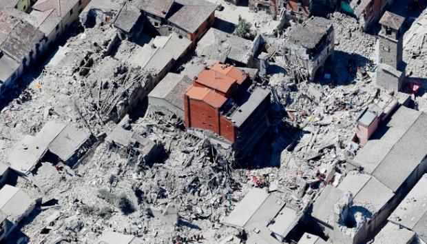Tiga Perempat Kota Hancur, Akibat Gempa Italia Berkekuatan 6,2 Skala Richter