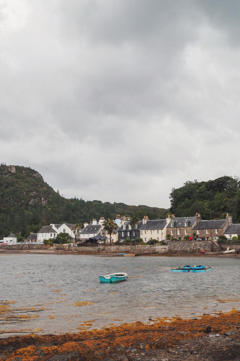 Visiter les Highlands en Ecosse : le village de Plockton