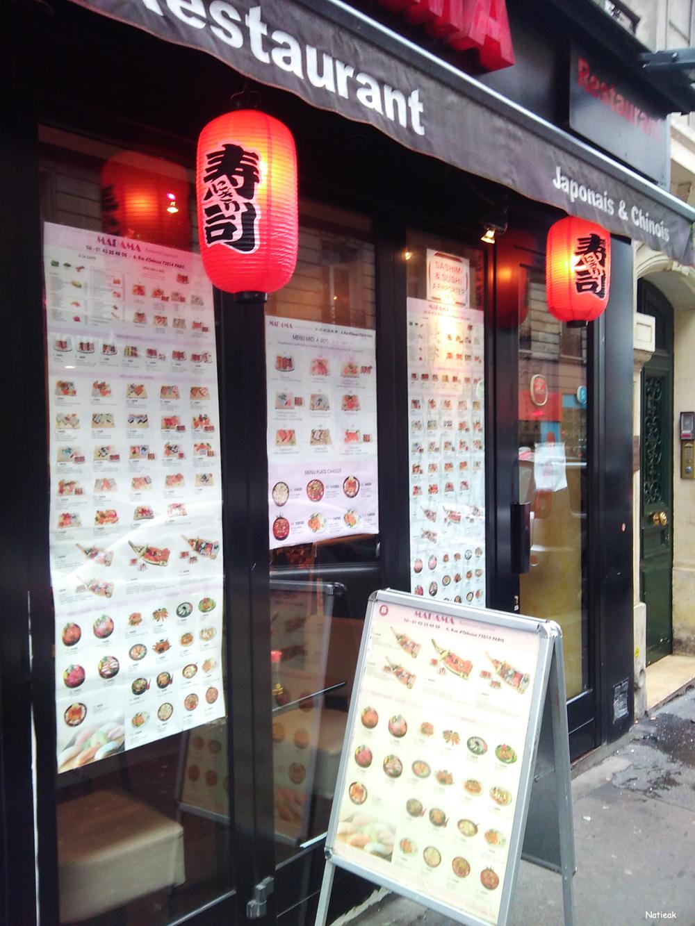 restaurant japonais et chinois