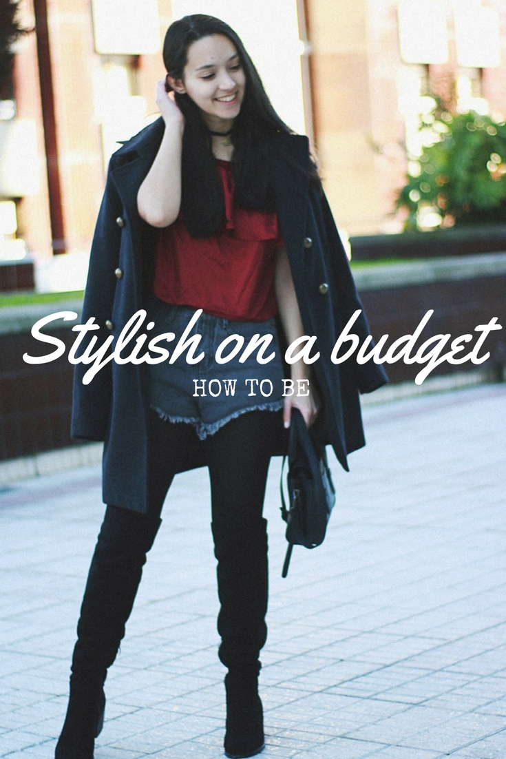 how to be stylish on a budget
