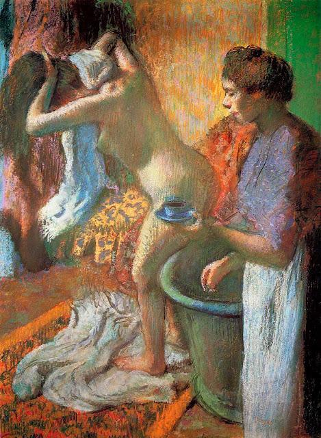 Эдгар Дега - Чашка чая (1883)