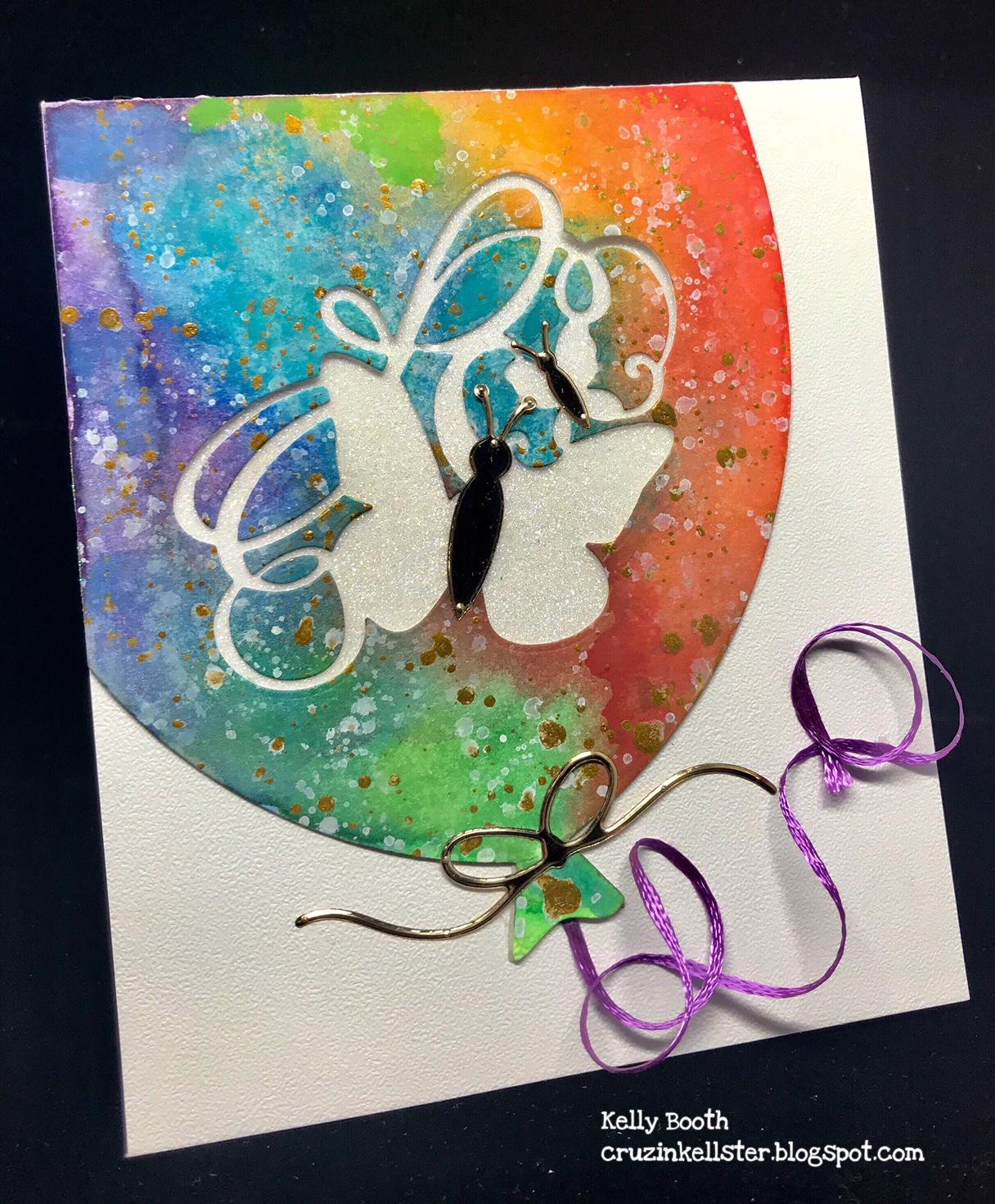 Lovin The Life I Color I M On The Elizabeth Craft Designs Blog With