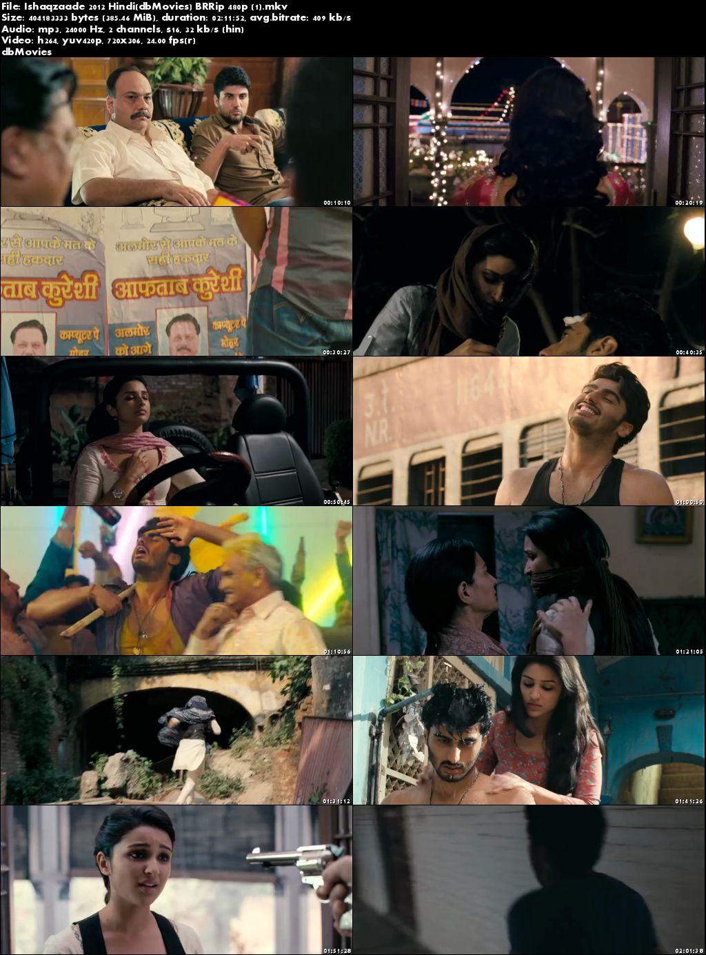 screen shot Ishaqzaade 2012 Full Hindi Movies Download 300MB Free