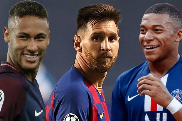 Trisula PSG Messi, Neymar Mbappe Siap Memulai Debut Nya Di Liga Champions