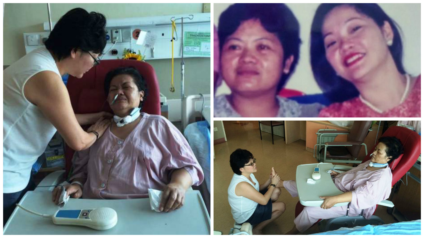 Singaporean employer tries to raise over $86,000 for Pinay maid who suffered stroke