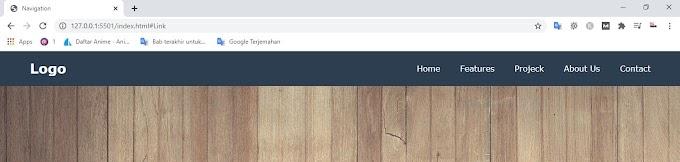 Cara Membuat Navigation Responsive dengan Pure HTML dan CSS