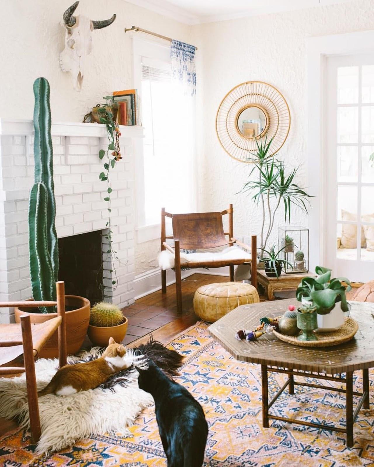 10 Beautiful Boho Chic Interiors | Design Fixation