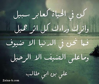 حكم وأمثال سيدنا على بن أبي طالب