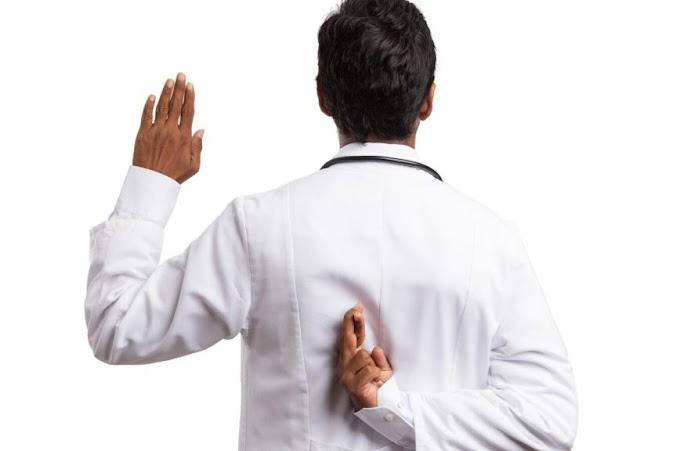 Sumpah Dokter Sering tidak Diamalkan oleh Dokter yang Mengucapkannya