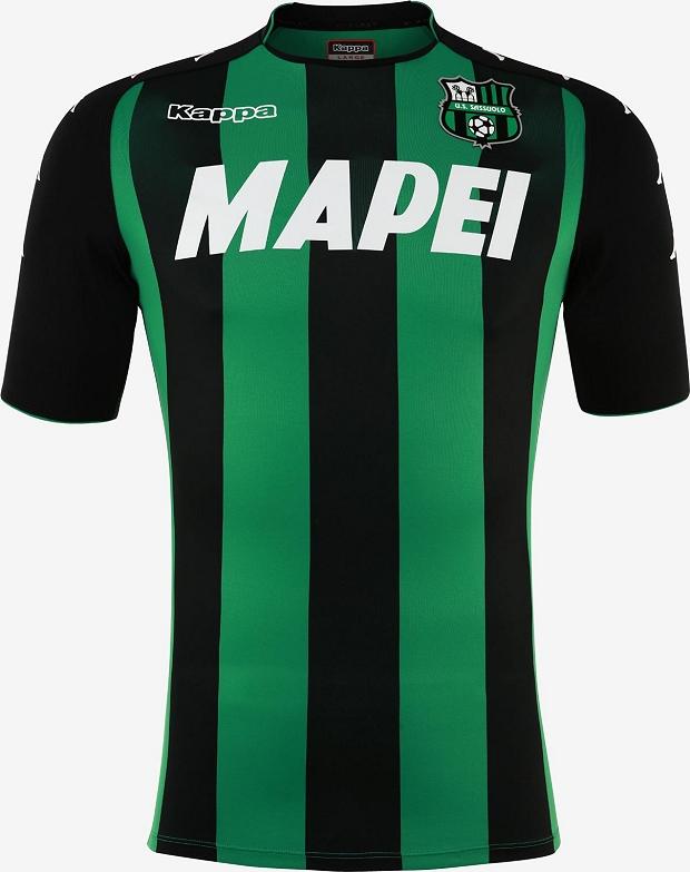 a1db3d060007f Kappa divulga as novas camisas do Sassuolo - Show de Camisas
