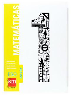 Libro Matemáticas 1º ESO SM Proyecto Esfera