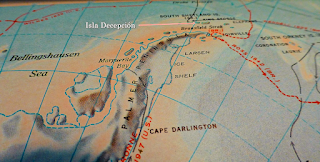Isla Decepcion Map
