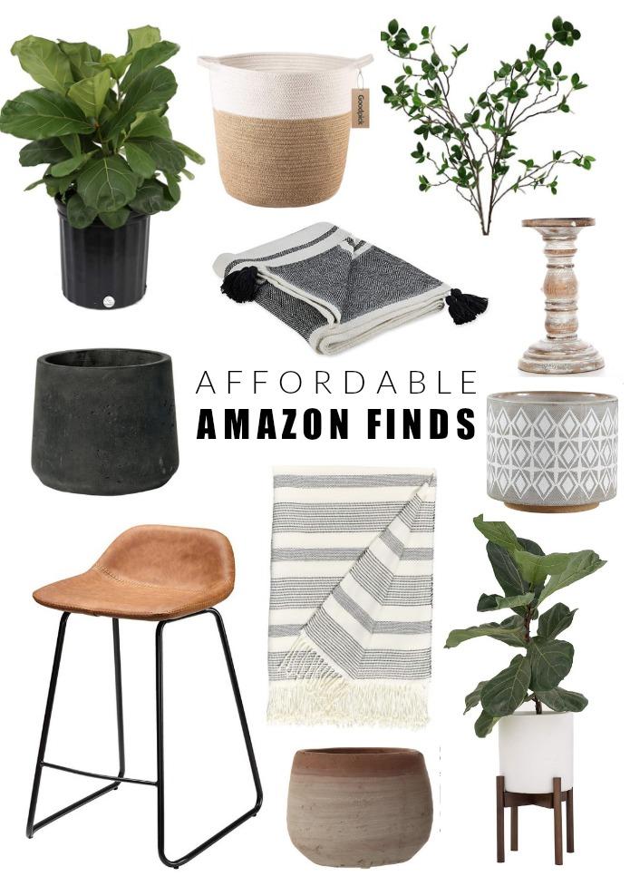 budget-friendly modern farmhouse amazon finds