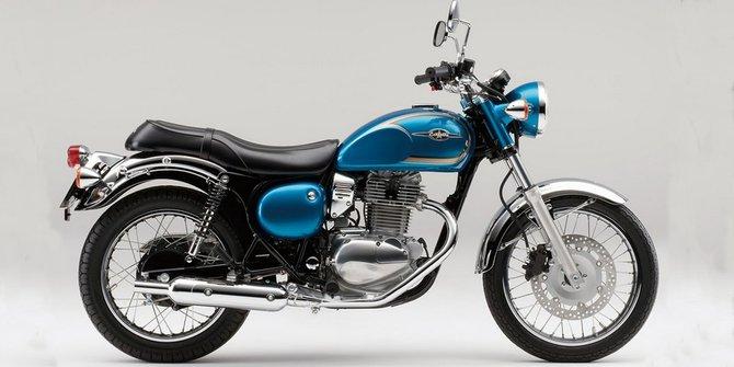 gambar motor klasik terbaru merk kawasaki estrela