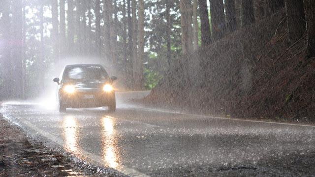 Стиль вождения в дождь