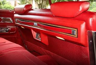 1973 Oldsmobile 98 Luxury Sedan Seat Interior