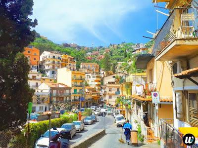 City view, Taormina | Sicily, Italy | wayamaya