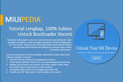 Update 2020! Tutorial Lengkap, 100% Sukses Unlock Bootloader (UBL) Xiaomi