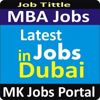 MBA Finance Jobs In UAE Dubai With Mk Jobs Portal
